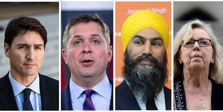 Everything you need to know about Canada's federal political parties