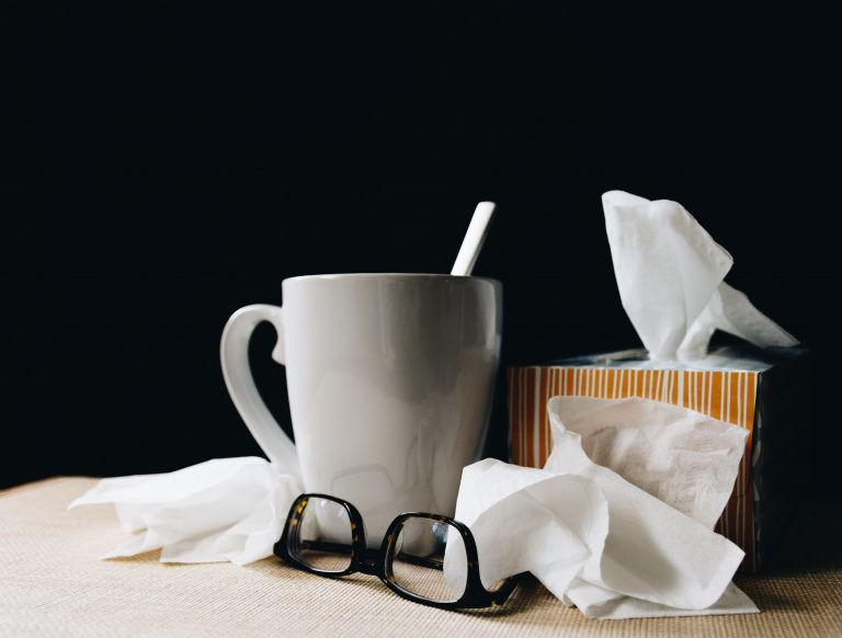 Don't let the flu get to you!