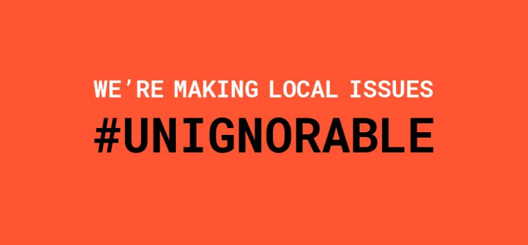 United Way campaign is making local issues #UNIGNORABLE